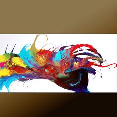 Abstract Art  Huge Custom Made  Modern Contemporary by wostudios, $249.00