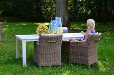 Stół ogrodowy biały z kolekcji ORLANDO http://domotto.redcart.pl/p/31/4346/stol-prostokatny-orlando-220x100x74cm-stoly-drewniane-meble-do-ogrodu.html