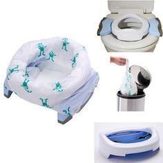 Pot de voyage Potette et reducteur de toilette