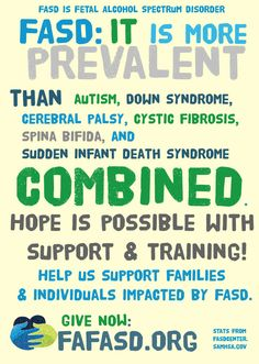 fasd is more prevalent yet less recognized than autism