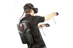 Un sac à dos PC pour la réalité virtuelle : le MSI VR One - Avec ce sac à dos…