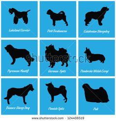 Dog Icon 10 - stock vector