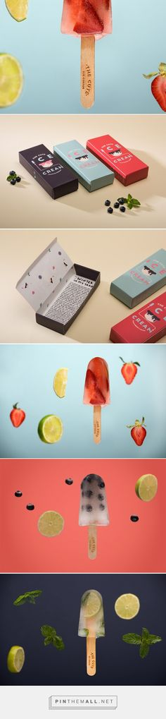 The Cute Ice Cream - Packaging of the World - Creative Package Design Gallery - http://www.packagingoftheworld.com/2016/02/the-cute-ice-cream.html