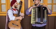 """Balaio de Sons é projeto musical que o acordeonista Luciano Maia e o violonista Gabriel Selvage apresentam na Unibes Cultural, como atrações do programa Música Independente. O repertório, além de composições dos artistas, tem músicas como """"Nilopolitano"""", de Dominguinhos, """"Dayanna"""", de Alessandro Penezzi, """"Porá Demas"""", de Lucio Yanel e """"Eu não Existo sem Você"""", de Tom Jobim e Vinícius de Moraes."""
