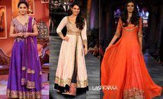 Supeb Collection!!!!!!!!! New Trends in #Bollywood Diva Floor Length #Anarkali Dresses at #Lashkaraa smile emoticon smile emoticon:):) http://www.lashkaraa.com/blog/bollywood-replica-floor-length-anarkali-suits/