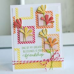 Betsy Veldman uses Fresh Daisies Die on this stunning card, along with exclusive stamps from Simon Says