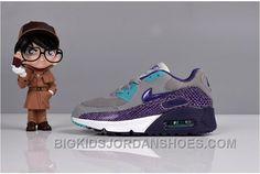 Leather Sneakers, Air Max Sneakers, Sneakers Nike, Cheap Jordans, Kids Jordans, Air Max 90 Kids, Jordan Shoes For Kids, Air Max 90 Leather, Kids Boots