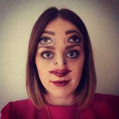 Dieses irritierende Halloween-Makeup: | 26 völlig unschuldige Bilder, die Dich…