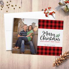 free printable holiday cards free printable plaid and peace
