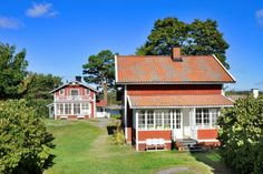 lovely cottages in swedish classic style