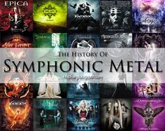 Symphonic metal is an unusual area of the music world, and its journey is not easily defined. It is essentially a fusion genre in wh. Symphonic Metal, Anette Olzon, Film Score, Power Metal, The New Wave, New Bands, Latest Albums, Metal Projects, Death Metal