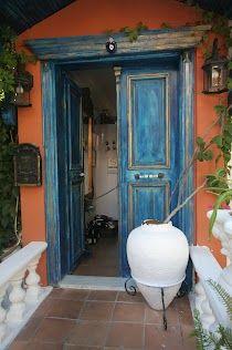 Kas doorway, Turkey