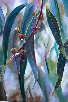 """Regeneration 1"" pastel drawing by Lynda Robinson"
