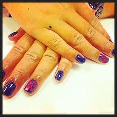 Nails Inc Alexa Hearts collection: 2 week manicure featuring Alexa Edit and hearts on ring fingers  #nailsinc #leeds #birthday #nailsincleeds #harveynicsleeds #alexahearts