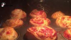 Gefüllte Pizzabrötchen super einfach selbst gemacht