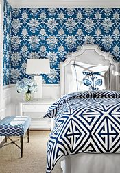 Interior Design Inspiration | Thibaut Design | Bridgehampton