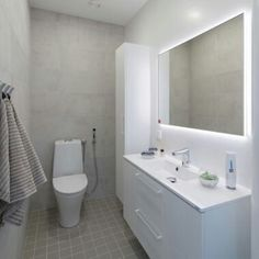 Hartman Koti Salmiakki on nelihenkisen perheen Bathroom Toilets, Laundry In Bathroom, Bathroom Cleaning, Master Bathroom, Bathroom Design Luxury, Bathroom Essentials, Sauna, Home Reno, Beautiful Bathrooms