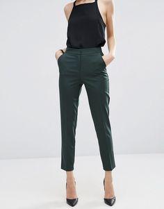 Bild 4 von ASOS Premium – Glatte, schmal geschnittene Hose