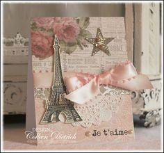 Card made with Prima London Market