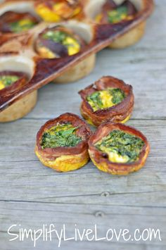 Bacon wrapped egg, s