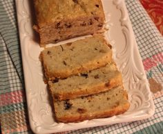 Pear-Hazelnut Bread.  Made with whole grains, fresh pears and a little cardamom for flavor.  Wonderful!!