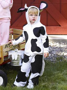Group and Family Halloween Costumes: Cow (via Parents.com)