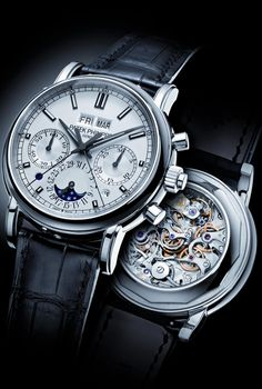 Patek Philippe – The Most Beautifully Complicated Mechanical Watches. http://SuccessAndLuxury.com/patek-philippe-the-most-beautifully-complicated-mechanical-watches