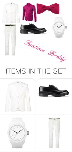 """""""Funtime Freddy"""" by remus-paris-black on Polyvore featuring art"""