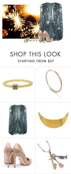 """""""New Years Eve Party"""" by jennu721 ❤ liked on Polyvore featuring Nak Armstrong, Ellie Air, Elie Saab, Colette Malouf, Rupert Sanderson, Sweet Romance, Alexis Bittar, danceparty and nye"""