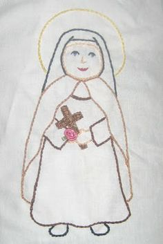Saint embroidery patterns and what to do with them