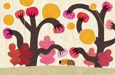 The sad tiger by nicolas-gouny-art on DeviantArt Book Illustration, Illustrations, Make Me Smile, Childrens Books, Whimsical, Digital Art, Sad, Creatures, Kids Rugs