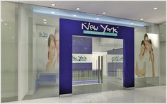 Shop Front Design of NY & YN Singapore on Behance