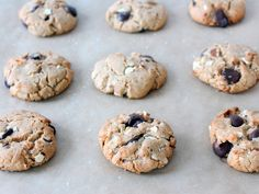 Almond Butter, Dark Chocolate & Coconut Cookies | If You Give A Blonde A Kitchen