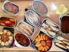 Canned fish, a culinary treasure by Mediterraneo Taste Wine Recipes, Food Network Recipes, Asian Recipes, Mexican Food Recipes, Ethnic Recipes, Muesli, Navratri Recipes, Navratri Food, Canned Meat