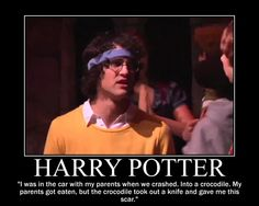 """At least that's what my liar aunt and uncle told me."" Yay for AVPS! Harry Potter Musical, Harry Potter Memes, A Very Potter Sequel, Avpm, Team Starkid, No Muggles, Yer A Wizard Harry, Fandoms, Drarry"