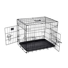 Pet Trex 2190 ABS 24 Inch Dog Crate Folding Pet Crate Kennel for Dogs, Cats or Rabbits, 24' ** See this awesome image  : Dog cages