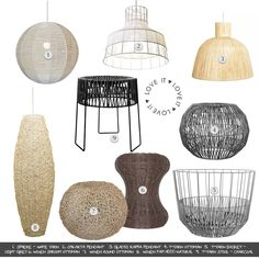 Fundi Light and Living: Woven Wonders Sisal, Decorating Blogs, Decorative Accessories, Plates, Interior Design, Lighting, Tableware, Inspiration, Licence Plates