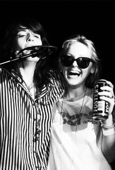 Laura Marling and Florence Welch