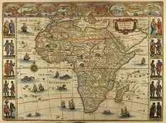 blaeu map of africa