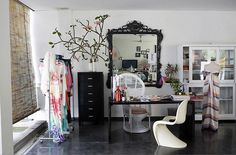 love this office space!! #studio #office #fashion