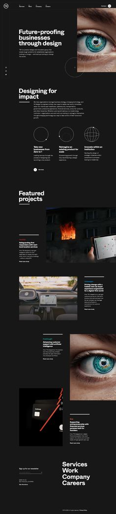 TM landing page design inspiration - Lapa Ninja Website Layout, Web Layout, Layout Design, Design Web, Innovation Group, Minimal Web Design, Education Humor, Newsletter Design, Ui Design Inspiration