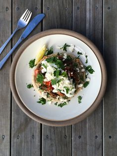 Babaganoush Lamb Pitas — Sophie Likes Cake Baba Ganoush, Risotto, Lamb, Food Photography, Ethnic Recipes, Baby Sheep
