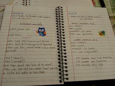 Caderno de Alemão