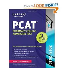 The most thorough evaluate pharmacy college students can get that covers all of the subjects examined on the PCAT!    The American Association of Faculties of Pharmacy (AACP) endorses the PCAT as the official most well-liked admissions take a look at for entrance into Pharmacy School, and sixty five% of pharmacy colleges require their prospective students to take the examination as part of their admissions package. Administered in January, June, August, and October
