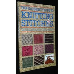 The Harmony Guide To Knitting Stitches Lyric Books (Paperback)  http://www.amazon.com/dp/B007FJV8DM/?tag=pinterestamzn-20