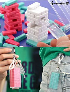 Key Keychain, Cute Keychain, Mini Things, Things To Buy, Stuff To Buy, Cool Keychains, Clear Handbags, Geek Stuff, Car Stuff