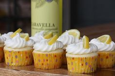 Limoncello Cupcakes ahh omg cant wait to make these