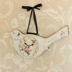Wooden wall atlas world map globe pendulum clock vintage kitchen bird wall clock in cream gumiabroncs Gallery