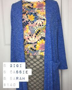 This outfit and many more are posted in my shopping group! Cassie  Gigi  Sarah = Perfection.  #lularoeemilyweber #lularoeemilywebershoppinggroup #teamlulalovelies #lularoemojo #teamserendipity #hostapartyearnfreeclothes #modestfashion #jointhemovement #joinmyteam #financialfreedom #capitalcitylularoe #shopwithemilyweber #lularoeolympia #lularoetumwater #womenempoweringwomen #momboss #workingmom #lularoegigi #lularoesarah #lularoecassie #lularoeoutfits #falloutfits #layers #patternmixing