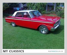 New keys are costly when lost.Identify your for this beauty with discreet Eurêka Protection labels. With a code linked to our website to quickly return objects to their owner Vintage Cars, Antique Cars, 1960s Cars, 1964 Ford, Driving Tips, Ford Fairlane, Dream Garage, Car Photos, Car Insurance